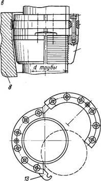 Основные параметры однофланцевых колонных головок
