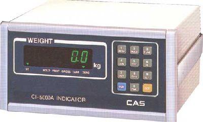 показаниям индикатора массы